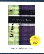 Microeconomics and Behavior (h�ftad)