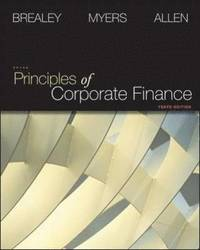 Principles of Corporate Finance - Global Edition W/connect plus (häftad)