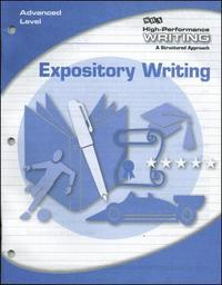 advanced expository writing Days and times 4:00-5:15 tr course description as part of work on your reading and writing practices in this course, we will examine how fiction, non-fiction and.