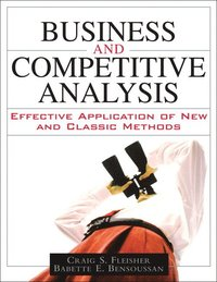Business and Competitive Analysis (häftad)
