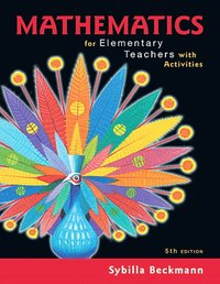 Mathematics for Elementary Teachers with Activities (inbunden)