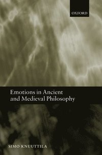 Emotions In Ancient And Medieval Philosophy Simo