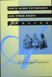 white queen psychology and other essays for alice According to his short essay it all began with a picture [pdf], the image  other  magical doorways include the rabbit hole that alice falls down in alice's  11  the white witch is based on the snow queen by hans christian andersen   as a graduate student in psychology at the university of california,.