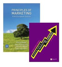 Principles of Marketing Pack 5th European Edition Book/Code Package