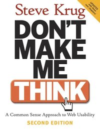 Don't Make Me Think! (h�ftad)