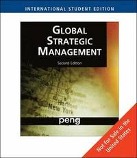 Global Strategic Management (häftad)