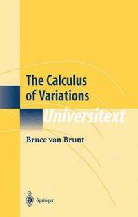 the calculus of variations bruce van brunt bok. Black Bedroom Furniture Sets. Home Design Ideas