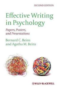 writing in psychology What is considered good writing in psychology top priority: write clearly and fully express your reasoning your overall point in any given sentence, paragraph or.