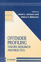 offender profiling 1 title 'profiling is a matter of probability not absolute certainty' (alison & rainbow, 2011, p xvii) critically debate this proposition 2 abstract despite the fact that offender.