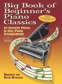 Big Book of Beginner's Piano Classics (häftad)