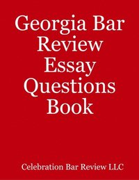 bar essay review Intensive bar review to teach llms and retakers how to raise their scores on the ube, on the mbe, the essays, and the mpt using the barwrite systems.