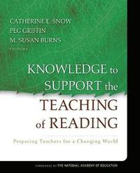 Knowledge to Support the Teaching of Reading (h�ftad)