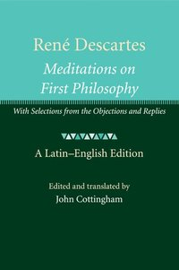 meditations 1 3 by ren descartes philosophy essay Descartes' third meditation: proof of god's existence in rene descartes meditations on first philosophy, descartes is seeking to find a system of stable, lasting and certain knowledge, which he can ultimately regard as the truth.