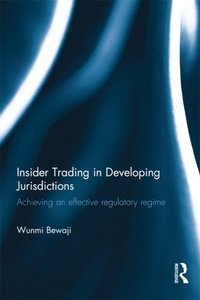 Insider Trading in Developing Jurisdictions (e-bok)