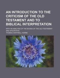an analysis of the old testament This blog is intended to be an outlet for research and questions on the textual criticism of the old testament/hebrew bible and related issues.