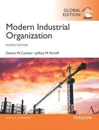 modern industrial organization carlton perloff pdf