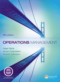 Operations Management/Quantitative Analysis in Operations Management/Companion Website with Gradetracker Student Access Card: Operations Management 5e