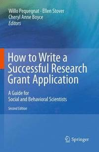 writing research grant applications