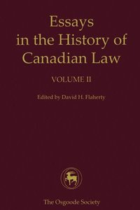 univ of toronto press+essays in the history of canadian law My new project examines the history of international law in canada more broadly  funded  with angela fernandez (faculty of law, university of toronto) and.