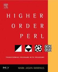 Higher-Order Perl: Transforming Programs with Programs (inbunden)