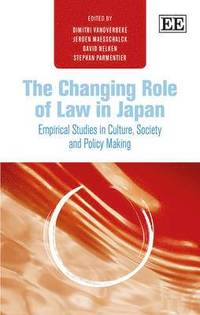 The Changing Role of Law in Japan - Dimitri Vanoverbeke ...
