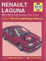 Renault Laguna Petrol and Diesel (1994-2000) Service and Repair Manual (inbunden)