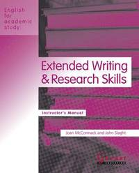 English for Academic Study: Extended Writing & Research Skills 2012 Edition – Course Book