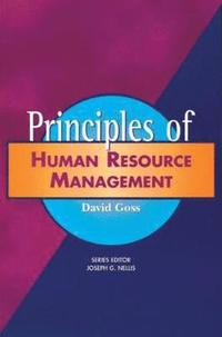 principles of human resource Critics have argued that the field of human resource management (hrm) lacks a coherent theoreticalframework this article attempts to further the theoretical.
