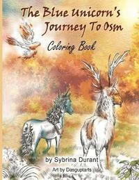 The Blue Unicorn's Journey to Osm Coloring Book (häftad)