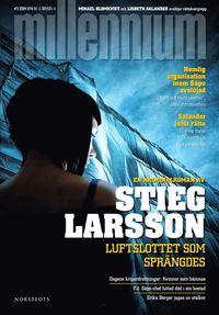 Omslagsbild: ISBN 9789113015316, Luftslottet som sprängdes