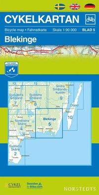 Cykelkartan Blad 5 Blekinge : 1:90000 pdf ebook