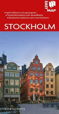 uppkopplad Stockholm EasyMap stadskarta epub, pdf