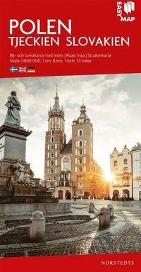 Polen EasyMap : Skala 1:800.000 pdf epub