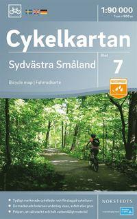 uppkopplad Cykelkartan Blad 7 Sydvästra Småland : Skala 1:90.000 pdf, epub