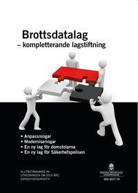 ladda ner Brottsdatalag - kompletterande lagstiftning. SOU 2017:74 : Slutbetänkande från Utredningen om 2016 års dataskyddsdirektiv pdf, epub ebook