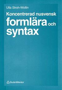 Koncentrerad nusvensk formlära och syntax pdf, epub