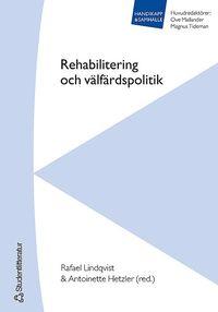 uppkopplad Rehabilitering och välfärdspolitik pdf