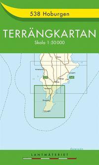 läsa 538 Hoburgen Terrängkartan : 1:50000 pdf epub