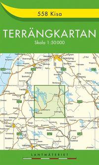 ladda ner online 558 Kisa Terrängkartan : 1:50000 pdf