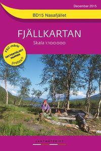läsa BD15 Nasafjället Fjällkartan : 1:100000 epub pdf