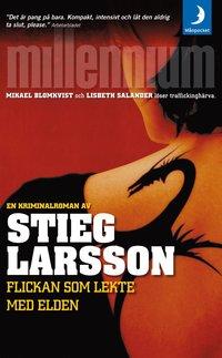 Omslagsbild: ISBN 9789170014833, Flickan som lekte med elden