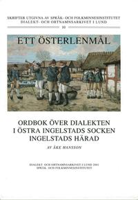 ladda ner Ett Österlenmål. Ordbok över dialekten i Östra Ingelstads socken och Ingelstads härad. pdf, epub