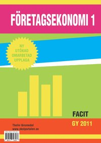ladda ner Företagsekonomi 1 - Facit pdf ebook