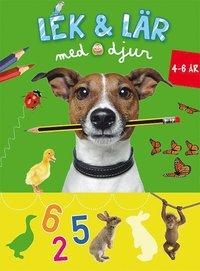 Lek & Lär med djur (4-6 år grön) pdf epub