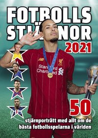 Bokomslag: Fotbollsstjärnor 2021