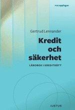 uppkopplad Kredit och säkerhet : lärobok i krediträtt pdf, epub