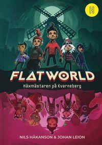 Bokomslag: Flatworld - Häxmästaren på Kvarneberg