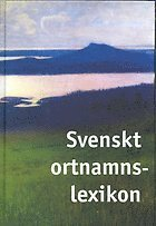 Svenskt ortnamnslexikon pdf ebook