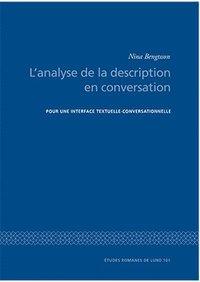 """ladda ner L""""analyse de la description en conversation pdf, epub"""
