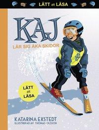 Kah lär sig åka skidor. Lätt att läsa